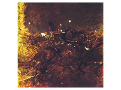 Night on Montmartre-Giovanni Boldini-Premium Giclee Print
