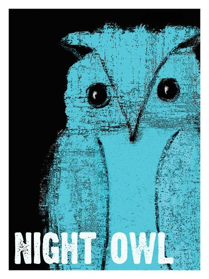 Night Owl-Lisa Weedn-Giclee Print