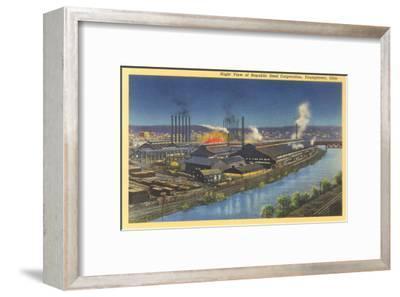 Night, Republic Steel Corporation, Youngstown, Ohio