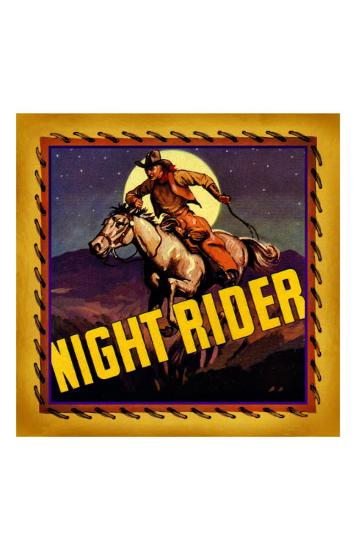 Night Rider--Giclee Print
