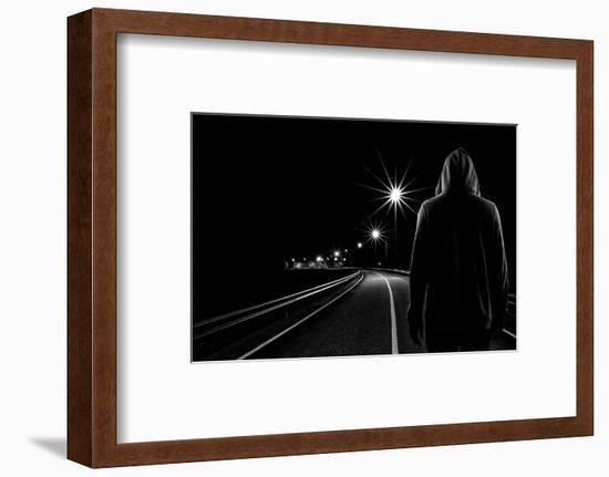Night Road-Patrick Foto-Framed Photographic Print