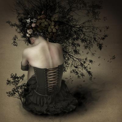 Night Scented Girl-Kiyo Murakami-Photographic Print