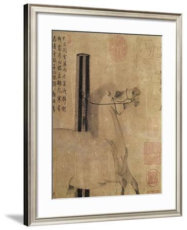 Night-Shining White, Tang Dynasty (618-907) C.750- Han Gan-Framed Giclee Print