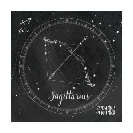 Night Sky Sagittarius.-Sara Zieve Miller-Art Print