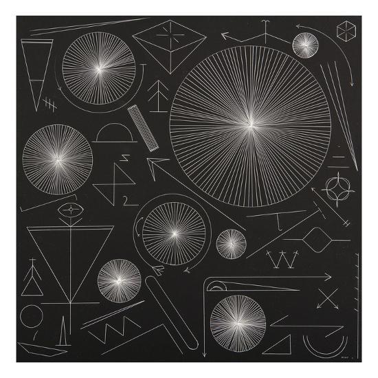 Night Symbols-Mark Warren Jacques-Premium Giclee Print