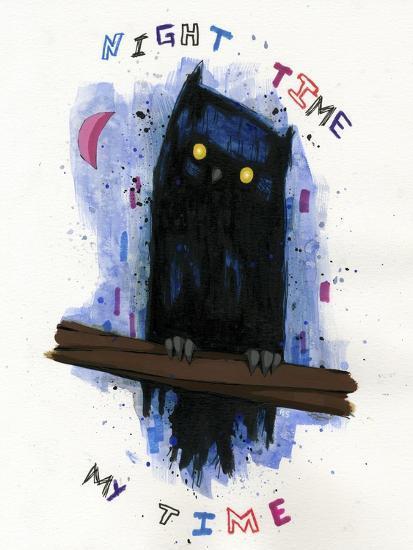 Night Time My Time-Ric Stultz-Giclee Print