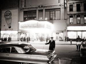 Night Time on Broadway, New York, January 1964