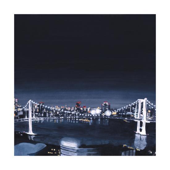 Night view,2013-Tomoko FURUYA-Giclee Print