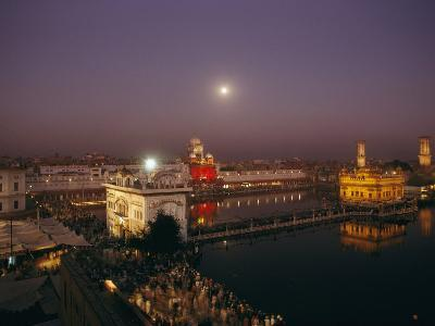 Night View of Amritsar-James P^ Blair-Photographic Print