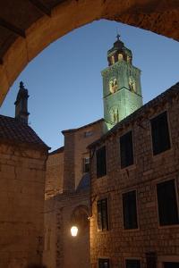 Night View of the Dominican Monastery (Dominikanski Samostan Bijeli Fratri)