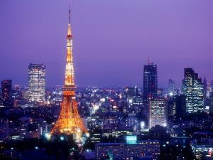 Night View of Tokyo Tower
