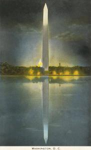 Night, Washington Monument, Washington D.C.
