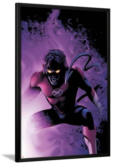 Nightcrawler No.4 Cover: Nightcrawler-Greg Land-Lamina Framed Poster