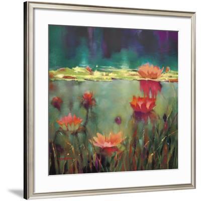 Nightfall-Donna Young-Framed Art Print