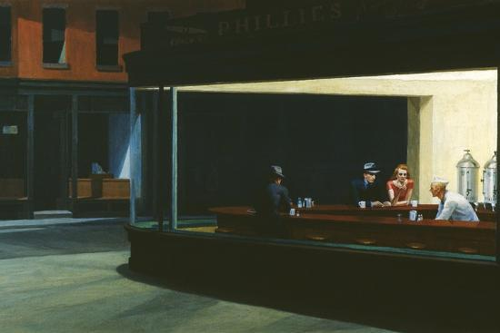 Nighthawks' Giant Art Print - Edward Hopper | Art.com