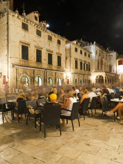 Nightlife, Dubrovnik, Dubrovnik-Neretva County, Croatia, Europe-Emanuele Ciccomartino-Photographic Print