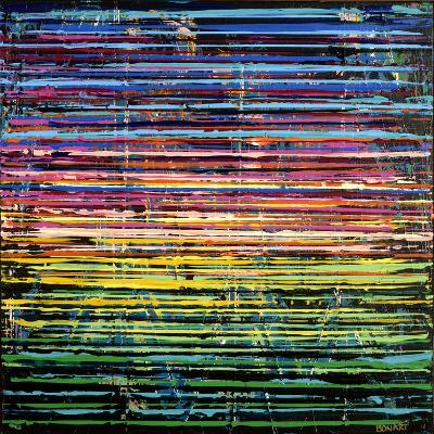 Nightlife-Ben Bonart-Giclee Print