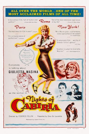 Nights of Cabiria, 1957--Art Print