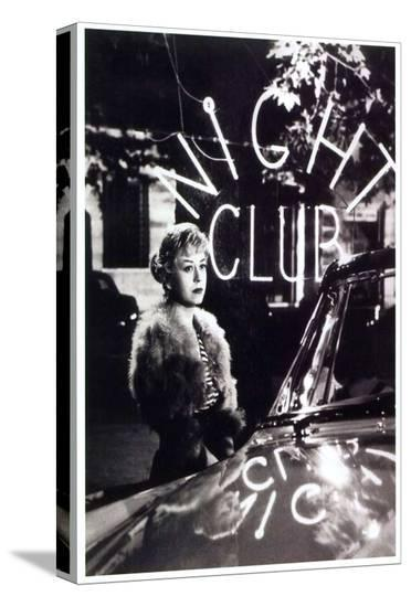 Nights of Cabiria--Stretched Canvas Print
