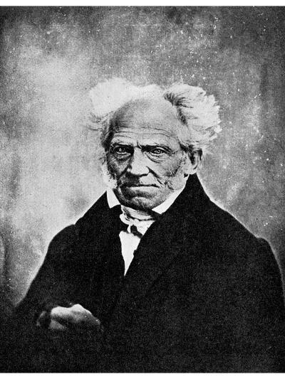 Nihilism: Arthur Schopenhauer, German Philosopher, 19th Century--Giclee Print