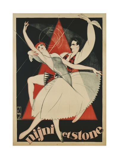 Nijni Et Stone Poster-Obrad Nicolitch-Giclee Print