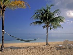 Beach Scene at The Inn at Bahama Bay, Grand Bahama Island, Caribbean by Nik Wheeler