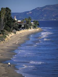 Butterfly Beach, Santa Barbara, California by Nik Wheeler
