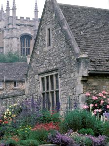 Christchurch College, Oxford, River Thames, England by Nik Wheeler
