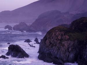 Coastline Between Carmel and Monterey, California, USA by Nik Wheeler