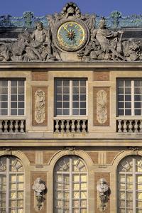 Europe, France, near Paris. Chateau of Versailles by Nik Wheeler
