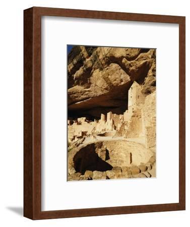 Kiva at Cliff Palace in Mesa Verde National Park