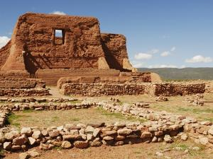 Mission Ruins at Pecos National Monument by Nik Wheeler