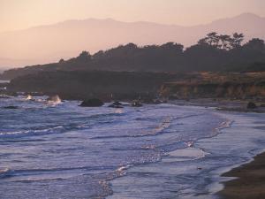 Moonstone Beach, Cambria, Napa Valley, California by Nik Wheeler