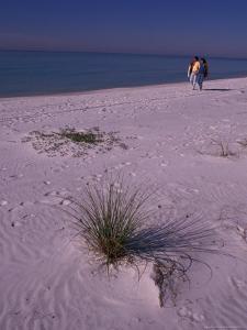 Seaside Couple, Gulf of Mexico, Florida, USA by Nik Wheeler