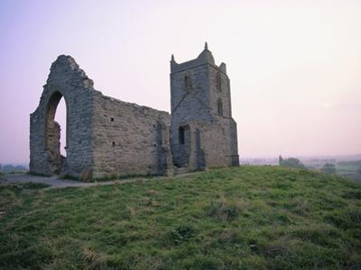 St. Michael's Church Ruins on Burrow Mump