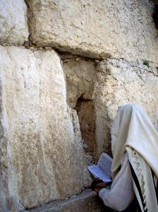 Wailing Wall, Jerusalem, Israel by Nik Wheeler