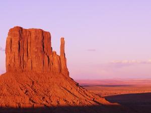 West Mitten Butte in Monument Valley by Nik Wheeler