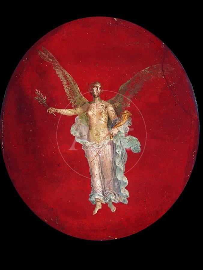 Nike Greek Goddess Of Winged Victory C 50 79 Art Print By Art