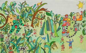 Jungle I by Niki De Saint Phalle