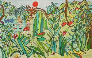 Jungle II by Niki De Saint Phalle