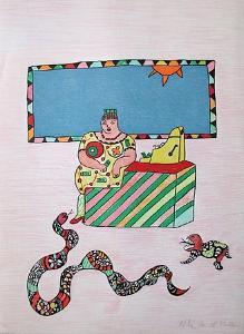 Mechant-Mechant - la Caissiere by Niki De Saint Phalle