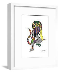 Singe-Lion (Monkey-Lion) by Niki de Saint Phalle