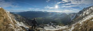 Alpine Panorama on the Mieminger Plateau by Niki Haselwanter