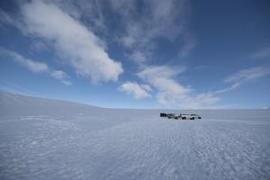 ATVs on the Vatnajokull Glacier by Niki Haselwanter