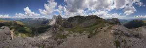 Cloud Panorama on the Seceda in South Tyrol by Niki Haselwanter