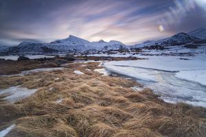 Long Exposure at the Lofoten in Norway by Niki Haselwanter