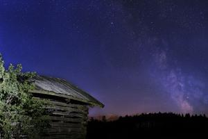 Milky Way with Stadel in the Foreground by Niki Haselwanter