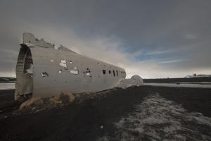 Plane Wreck in Southern Iceland by Niki Haselwanter