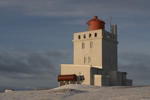 The Lighthouse at Dyrholaey in Iceland by Niki Haselwanter
