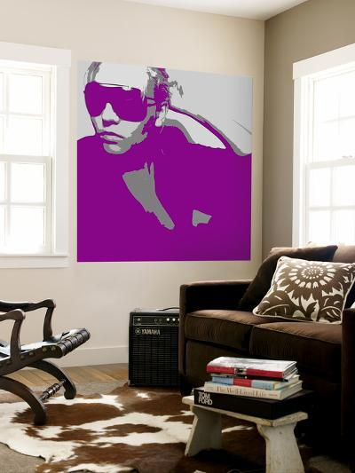 Niki In Glasses-NaxArt-Wall Mural